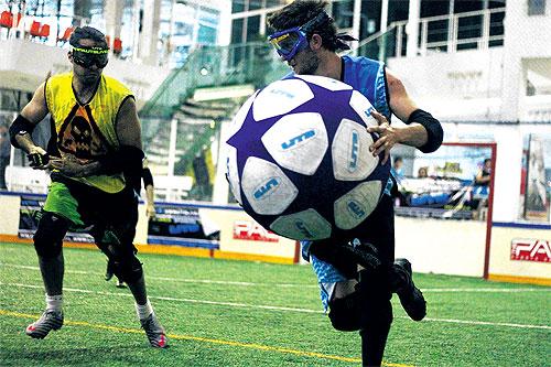 【アルティメットテーザーボール】世界最恐のマイナースポーツ現る。