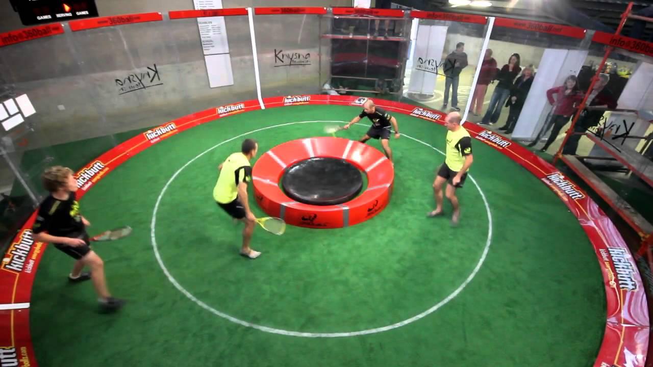 360ボール|テニスとスカッシュが混ざった新感覚スポーツが超面白そう