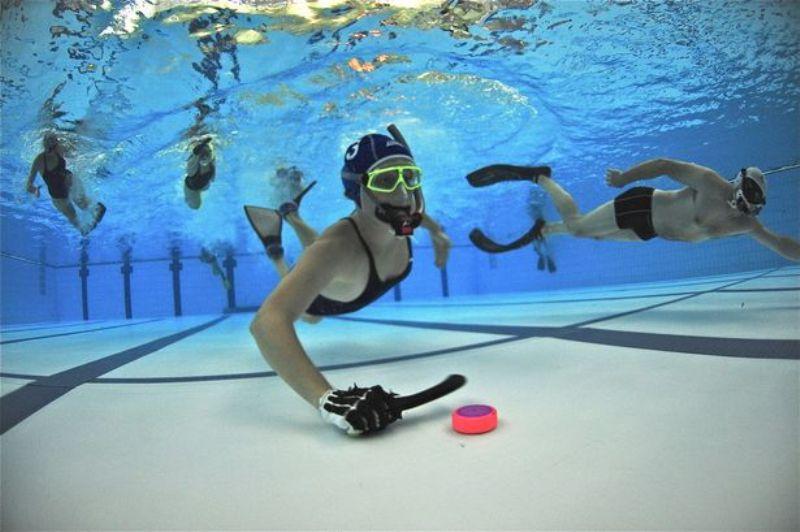 水中ホッケー|水底の格闘技!3次元的なマイナースポーツを徹底解説