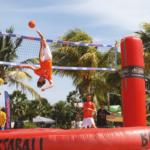 【ボサボール】トランポリンでバレーサッカー!?日本未上陸の新感覚マイナースポーツ