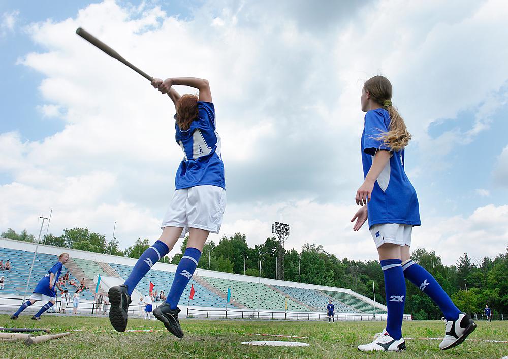 【ラプター】野球のノック+ドッジボール!ロシア式の少し変わったマイナースポーツ