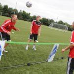 【フットテニス】サッカー+テニスのマイナースポーツ!実はプロサッカー選手もやってる!