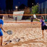 【ビーチテニス】簡単ルールの砂浜テニス!ノーバウンドでラリーせよ!