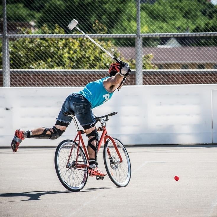 【サイクルポロ】自転車に乗りながら球技!日本未上陸の超マイナースポーツ