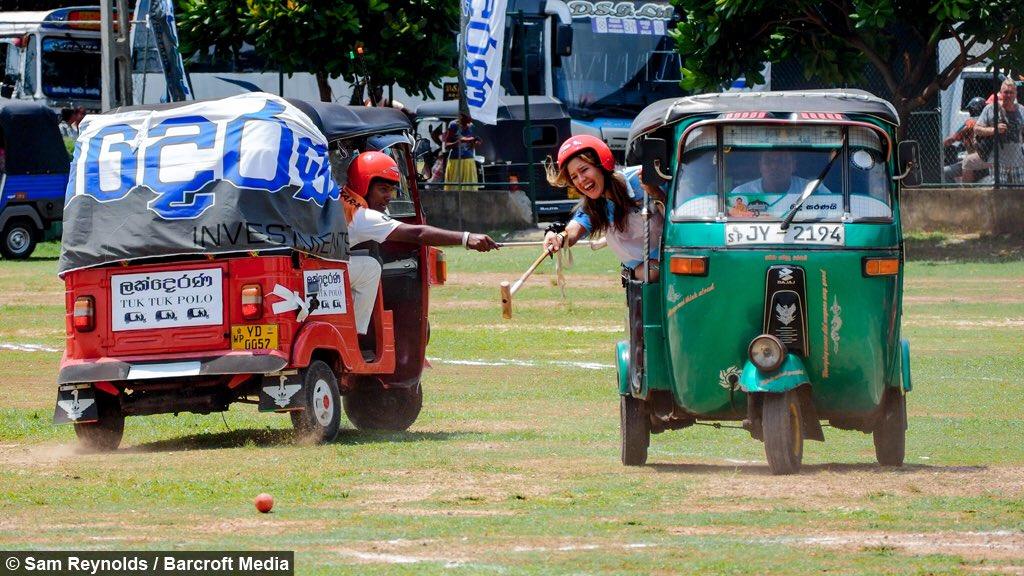 トゥクトゥクポロ|スリランカ発祥の平和なスポーツのルールを大紹介